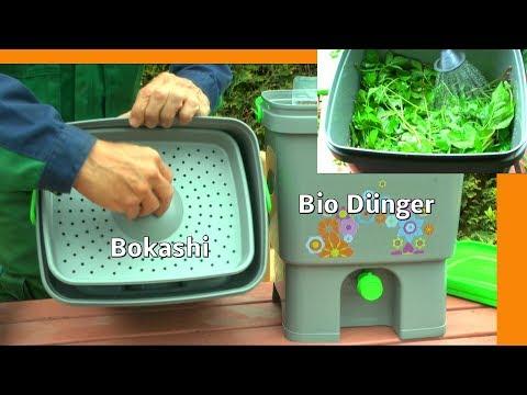 Bokashi nutzen um Bio Dünger selber herzustellen Teil 1 Bokashieimer befüllen