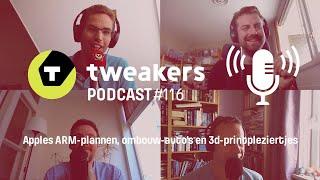 Tweakers Podcast #116 - Apples ARM-plannen, ombouw-auto's en 3d-printpleziertjes