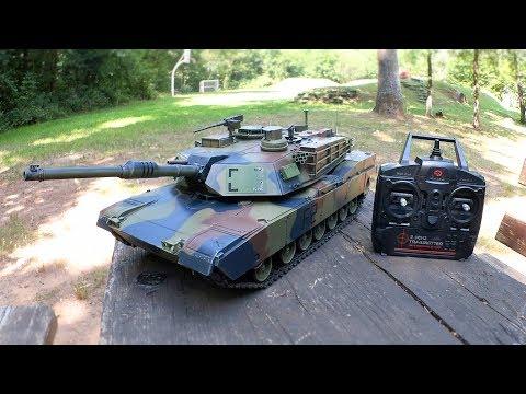 Torro M1 Abrams - 1/16 RC Panzer von Torro-Shop.de // Testbericht & Testfahrt