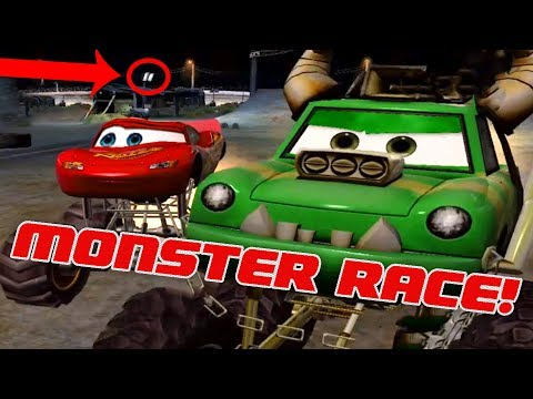 *Cars Hi-Octane* All Monster Truck Races With Sleepy Lightning Mcqueen Crash