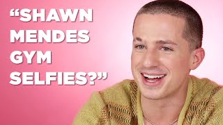 Charlie Puth Reacts To Headlines About Himself