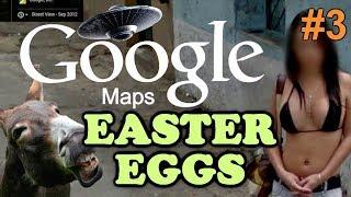 GOOGLE MAPS / EARTH Easter Eggs And Secrets | Ep #3 | HD