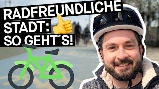 Sicher Radfahren: 7 Punkte, Wie Eine Stadt Fahrradfreundlich Wird || PULS REPORTAGE