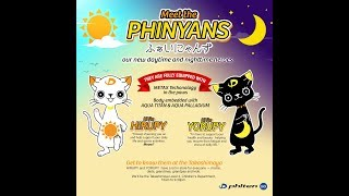 Meet The PHINYANS | Your Daytime & Nighttime Heroes | Phiten Singapore