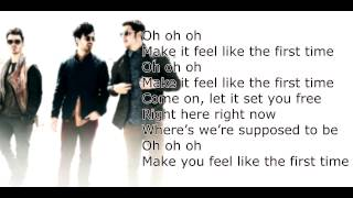 First Time Acoustic Live With Lyrics HD - Jonas Brothers