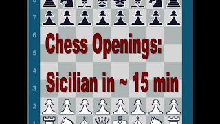 Chess Openings | Sicilian Defense in ~ 15 min