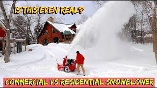 The biggest, Baddest Snow blower Built (at least that I've seen)