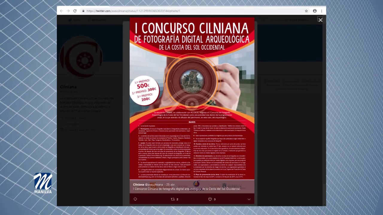 CONCURSO DE FOTOGRAFÍA DIGITAL ARQUEOLÓGICA