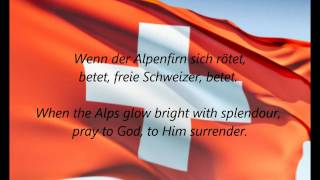 "Swiss National Anthem - ""Schweizerpsalm"" (DE/EN)"