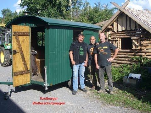 Restaurierung eines Waldarbeiterwagen-Wetterschutzwagen