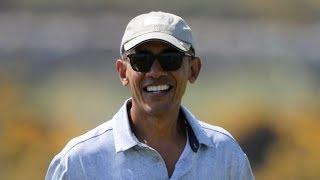 Barack Obama heads to