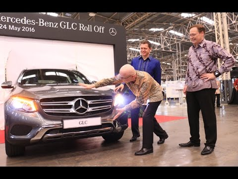 First Unit Mercedes-Benz GLC Roll Off at Wanaherang Plant | Carbay.co.id