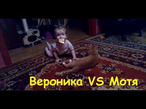 , title : 'Дети и животные / Приколы с детьми / Ребенок учится ходить / Ребенок и кот'