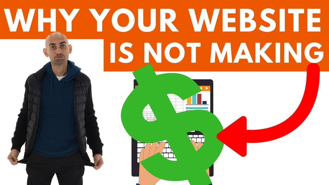 4 Reasons Why Your Website Isn't Making You Money and How to FIX it