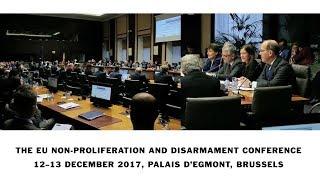 EU Non-proliferation and Disarmament Conference 2017   Kholo.pk