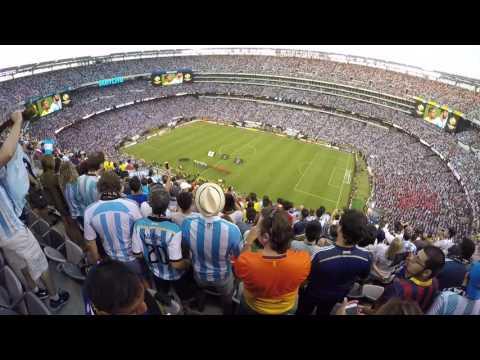[2016.06.26] Copa America Centenario Final Argentina vs Chile National anthem + penalty shootout