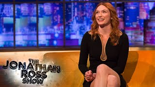 Eleanor Tomlinson Shares Her Embarrassing Audition for Peaky Blinders   The Jonathan Ross Show