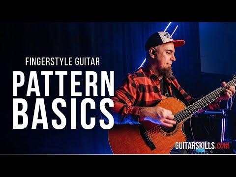 Acoustic Guitar For Beginners - Fingerpicking Pattern Basics