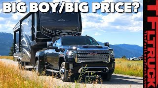 The New 2020 GMC Sierra HD Will TOW An AMAZING 35,500 Lbs...But Is It A Good Truck?
