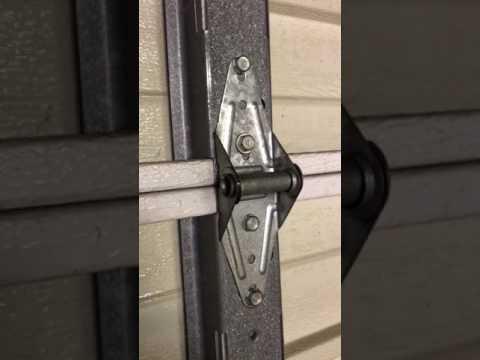 Replacing Garage Door Hinges
