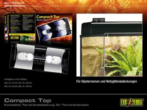 EXO TERRA Compact Top - Kompakte Terrarienabdeckung für Terrarienlampen