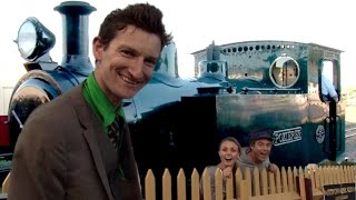 preview picture of video 'Dazzling Dan makes a train appear at the Bellarine Railway!'