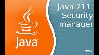 Урок Java 211: Security Manager