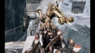 (Skyrim) Атака Двемеров  (Братья бури)