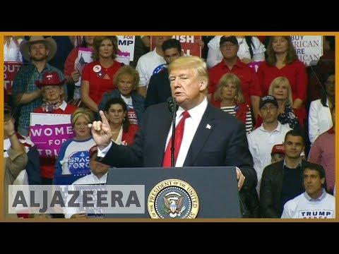 🇺🇸 US midterms 2018: Trump backs Ted Cruz in Texas rally | Al Jazeera English