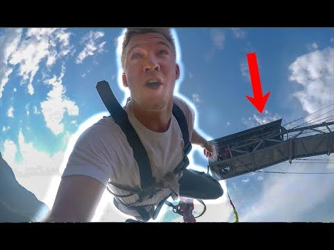 INCREDIBLE Bungee Jump Nepal! First Time!