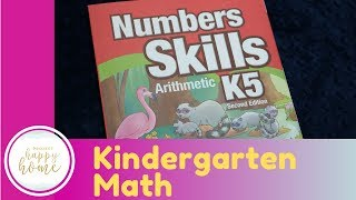 Kindergarten Math CURRICULUM REVIEW || Abeka Arithmetic K5 Number Skills