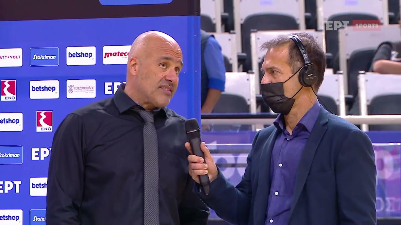 Basket League   Α. Λυκογιάννης: Παρουσιαστήκαμε χαμηλότεροι των προσδοκιών   02/10/2021   ΕΡΤ