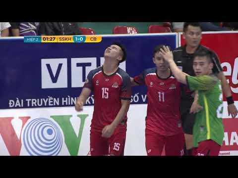 Giải futsal VĐQG 2019: Savinest S.Khánh Hòa vs Cao Bằng