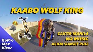 Kaabo Wolf King 72v | 45KM Ride Home | FPV | POV Ride | GoPro Max