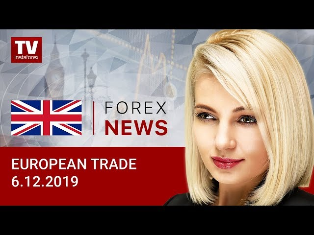 06.12.2019: Euro and pound end week with gains (EUR/USD, GBP/USD)