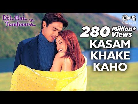 Kasam Khake Kaho Video Song - Dil Hai Tumhaara   Preity, Arjun & Mahima   Alka Y & Kumar Sanu