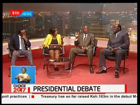 The Presidential debate debacle as President Uhuru taunts the media over favouritism: Choice 2017