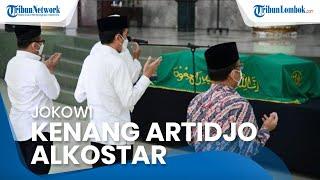 Puji Artidjo Alkostar, Jokowi: Penegak Hukum dan Dewas KPK yang Jujur dan Berintegritas Tinggi