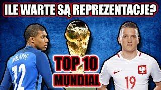 WARTOŚĆ REPREZENTACJI Mistrzostwa Świata 2018 | Polska w TOP 10