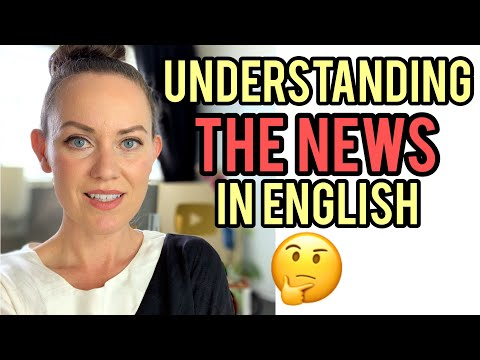 How to understand native news reporters in English