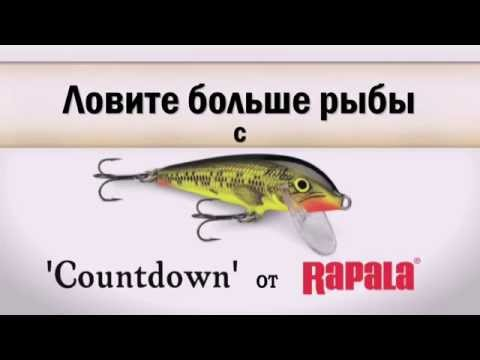 Воблер Rapala Countdown CD09-RT фото №1