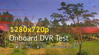 720p Onboard DVR Test [FPV DVR]