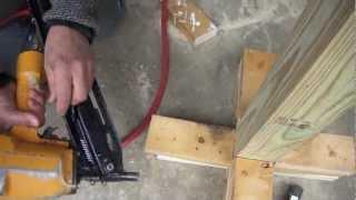 How To Use A Framing Nail Gun