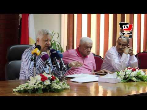 مرتضى منصور لـعبد الواحد السيد : أي حد ليه فلوس عند ممدوح عباس ياخدها منه
