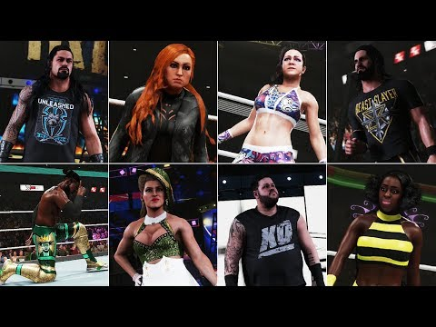WWE 2K19: 18 Updated Money in the Bank Attires (PS4/XB1)
