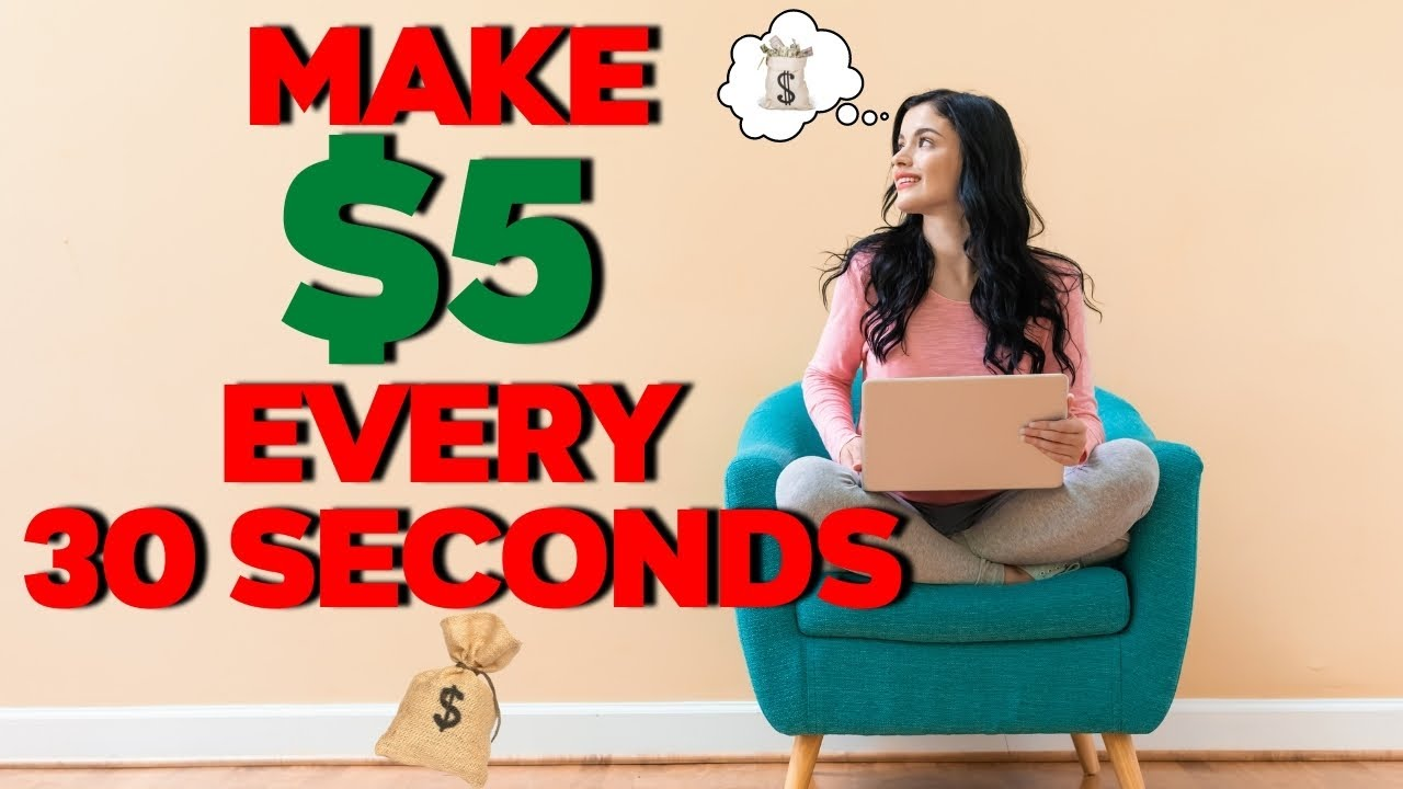 Make $5 Every 30 Seconds By Enjoying Advertisements!|Earn Money Online 2021 thumbnail