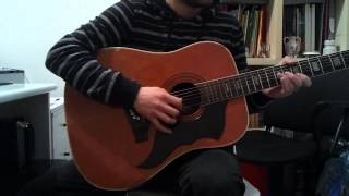 The Strokes - One Way Trigger (Acoustic Guitar Cover) HD+TAB