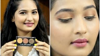Image for video on How To Create Rose Gold Summer Makeup || LA Colors || DeepikaElleedu by The Confession Closet