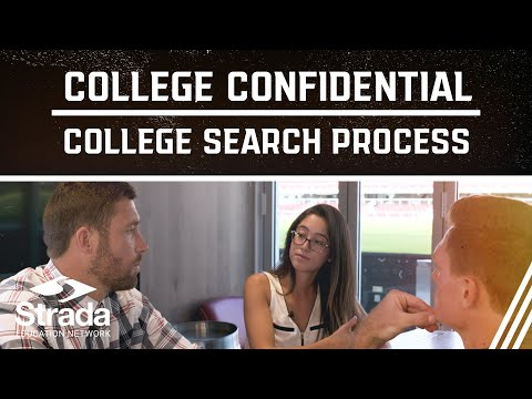 College Confidential Education Series   College Search Process
