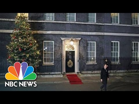 Prime Minister Johnson Hosts NATO Leaders At Downing Street | NBC News (Live Stream Recording)